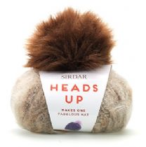 Heads Up - Super Chunky Hat Kit including Pom Pom - RRP £8.37. CLEARANCE PRICE £4.99